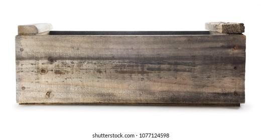 Empty Wood Crate