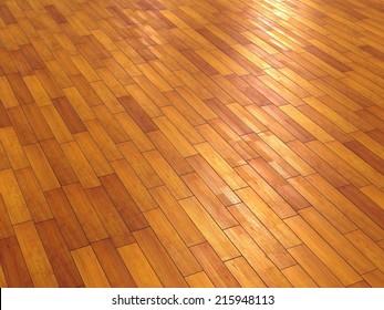 empty wood floor.