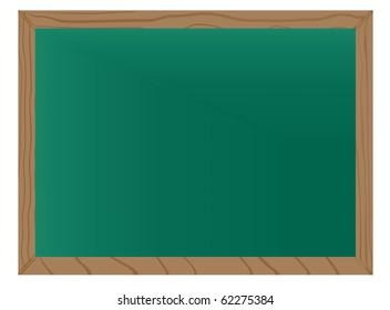 empty wooden blackboard. jpg