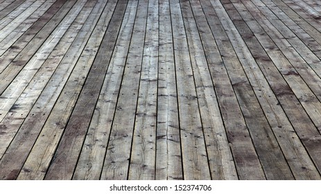 empty wooden floor