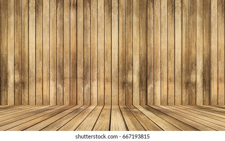 empty wooden interior room.and wood texture background
