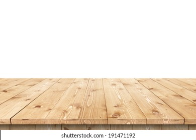 Wood Table Perspective Stock Images RoyaltyFree Images Vectors