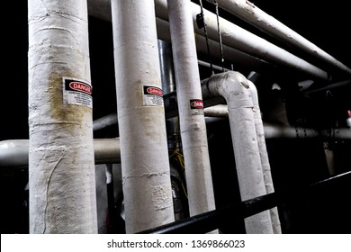 Encapsulated Asbestos Ducting