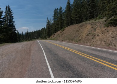 The Enchanted Circle scenic Byway can be found in northern New Mexico between Taos and Eagle Nest.