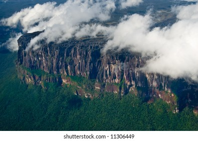 Encountering Angel's Falls, Highest waterfall in the world. Venezuela.