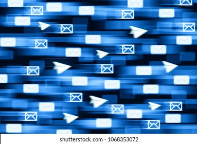 Encrypted telegram messanging delivery illustration background hd