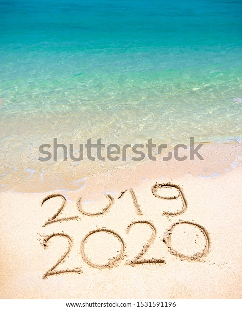 End 2019 Happy New Year 2020 Stock Image Download Now