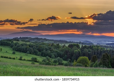 end of the day over spisz - Shutterstock ID 1859734915