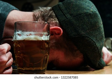 The End of drinking for this drunk Irish guy during St Patrick Day