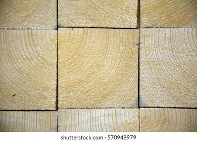 end grain wood tiles pattern