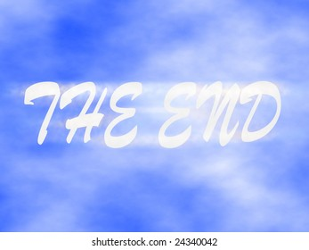the end on the sky