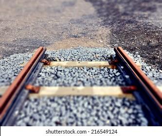 End of railway line