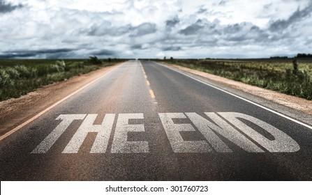 Das Ende auf der Landstraße