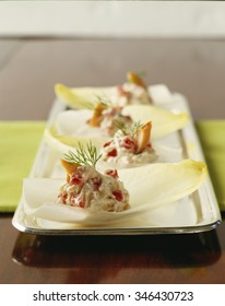 Endive Appetizer with Salmon
