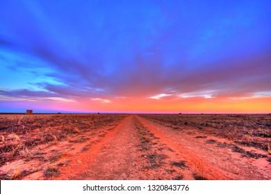 Endless Australian remote highways