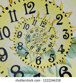 Endless clock, Abstract clock concept