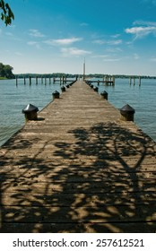 Endless Dock is a landscape photograph that was created at the very peaceful Mount Harmon Plantation located in Elkton Maryland on beautiful summer afternoon.
