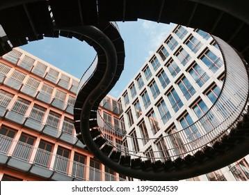 Endless Staircase - Munich, Bavaria, Germany