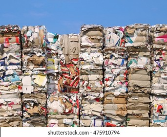 Endless stock paper and cardboard recycling