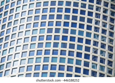 endless windows of modern skyscraper