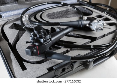 endoscope in the suitcase