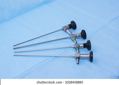 Endoscopic tube for arthroscopy, laryngoscopy, rhinoscopy.Diagnostic medical equipment