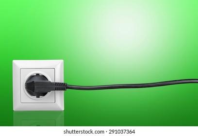 Energy, Electricity, Electric Plug.