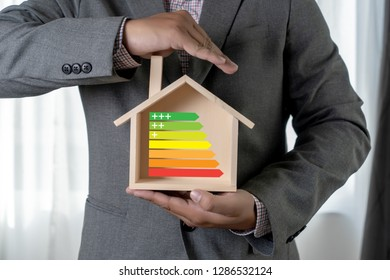 energy rating chart Eco man energy efficiency scale image