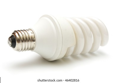 Energy saver  bulb closeup