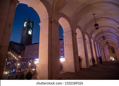 Energy saving day. I light up less in Bergamo