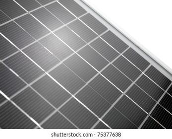 An energy saving solar panel