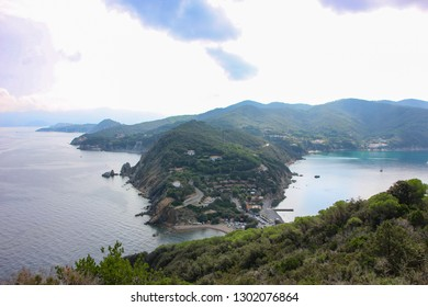 Enfola headland, Elba island, Italy