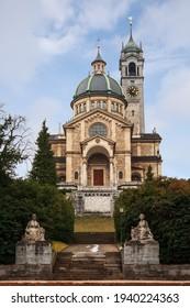 Enge Church (Kirche Enge) in Zurich, Switzerland - Shutterstock ID 1940224363