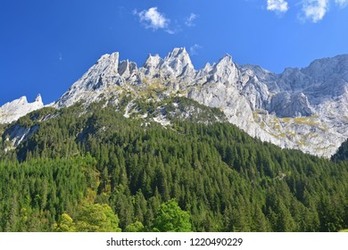 The Engelhorn mountains above Grindlewald in the Bernese Alps, Switzerland