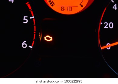 Engine Management Light Images, Stock Photos & Vectors