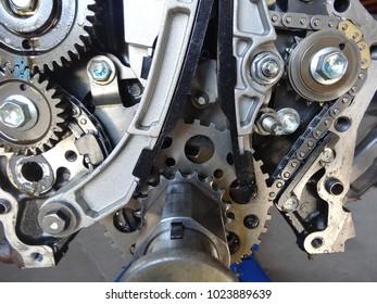 engine part metal