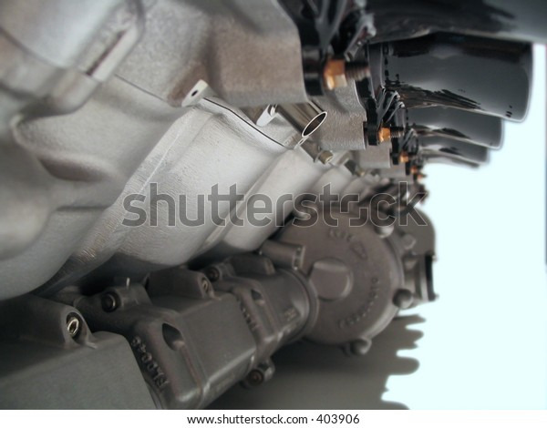 Engine perspective isolated