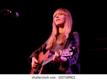 Engine Rooms Southampton - November 24th 2017: British singer songwriter Lucy Rose performing at the Engine Rooms, Southampton, November 24 2017 in Southampton, Hampshire, UK