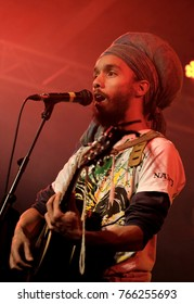 Engine Rooms Southampton - November 30th 2017: Reggae artist Natty and the Rebel Ship performing at the Engine Rooms, Southampton, November 30 2017 in Southampton, Hampshire, UK