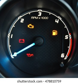 Engine Rrpm gauge