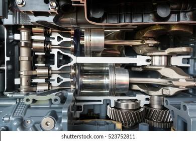 Engine speed boat, Engine of yacht ship
