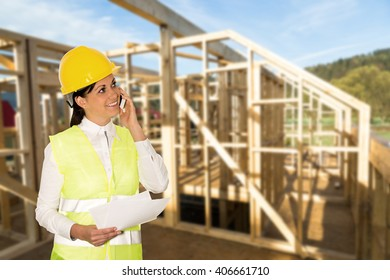 engineer building a new house
