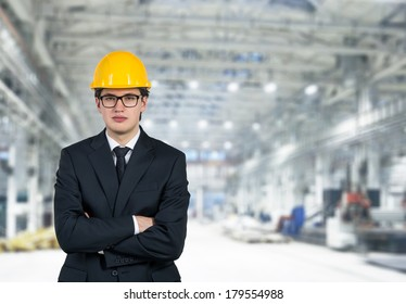 An engineer with a helm 5