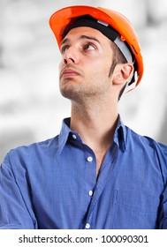 Engineer portrait