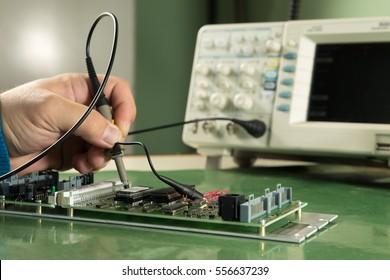 Imágenes, fotos de stock y vectores sobre Electronics Pcb