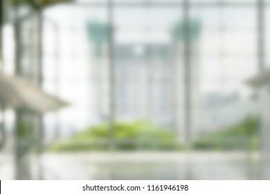 engineering construction concept blurred background,glass curtain wall