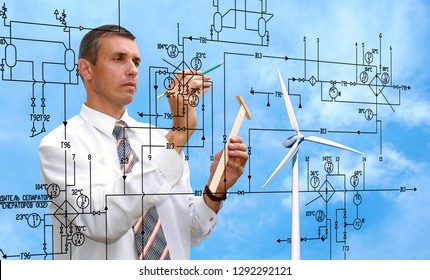 engineering designing clean energy nature