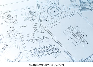 The engineering drawing printing