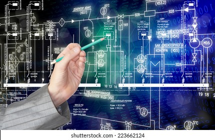 Engineering industrial designing