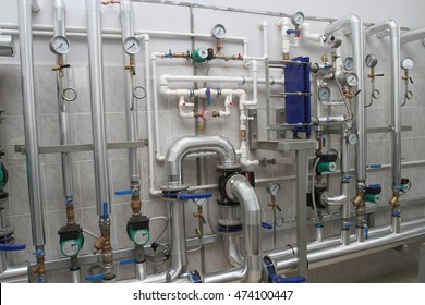 Engineering infrastructure in a modern boiler-house